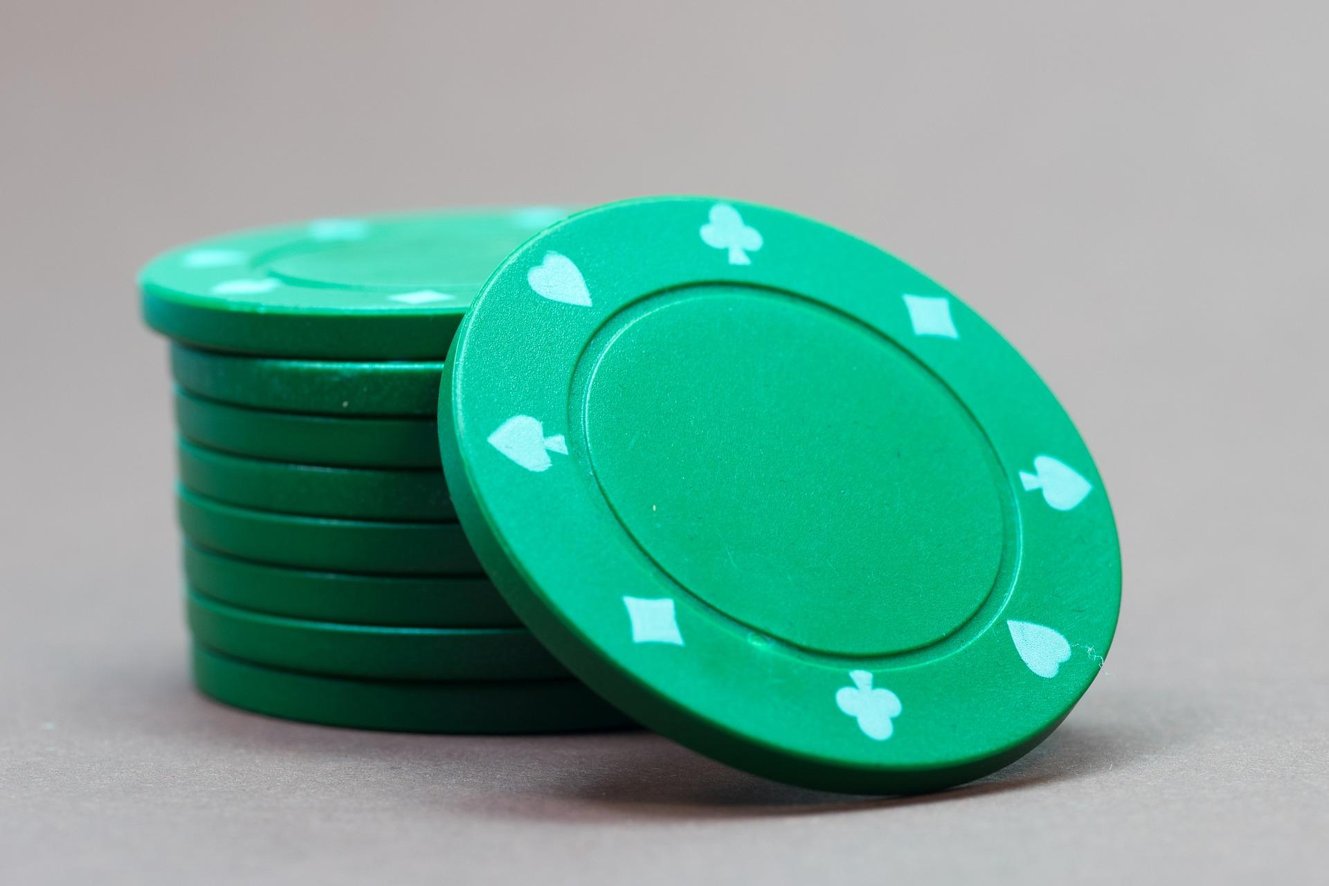 Kuvituskuva Pokerin pelimerkit