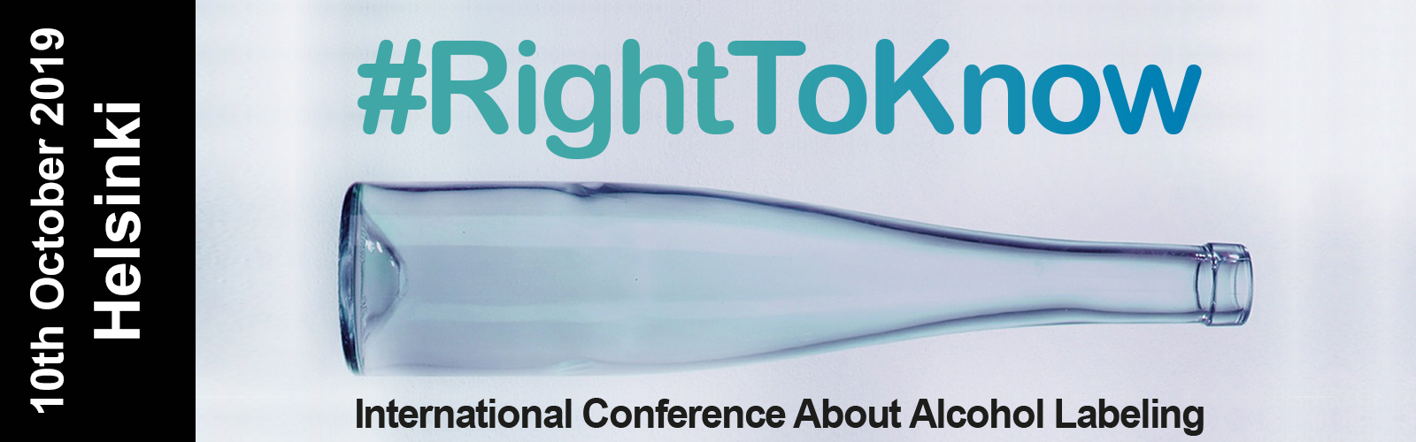#RightToKnow International Conference About Alcohol Labeling.