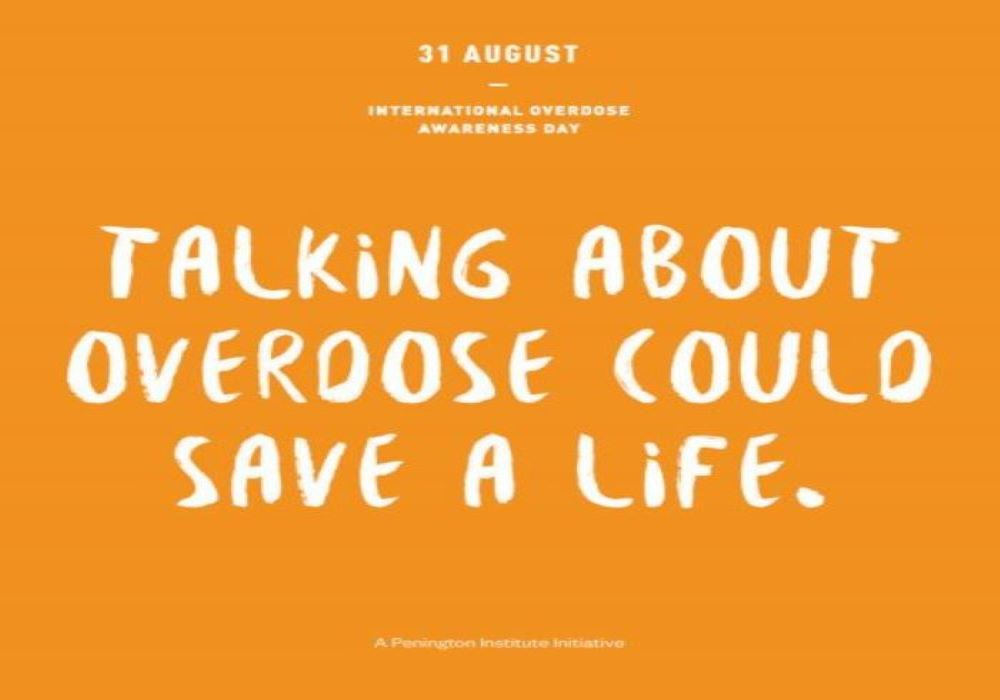 International Overdose Awareness Day logo